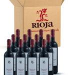 Rotwein Crianza Calavia Hacienda Rioja Tempranillo
