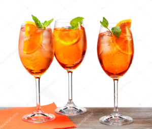 Cava Aperol Spritz Cocktail