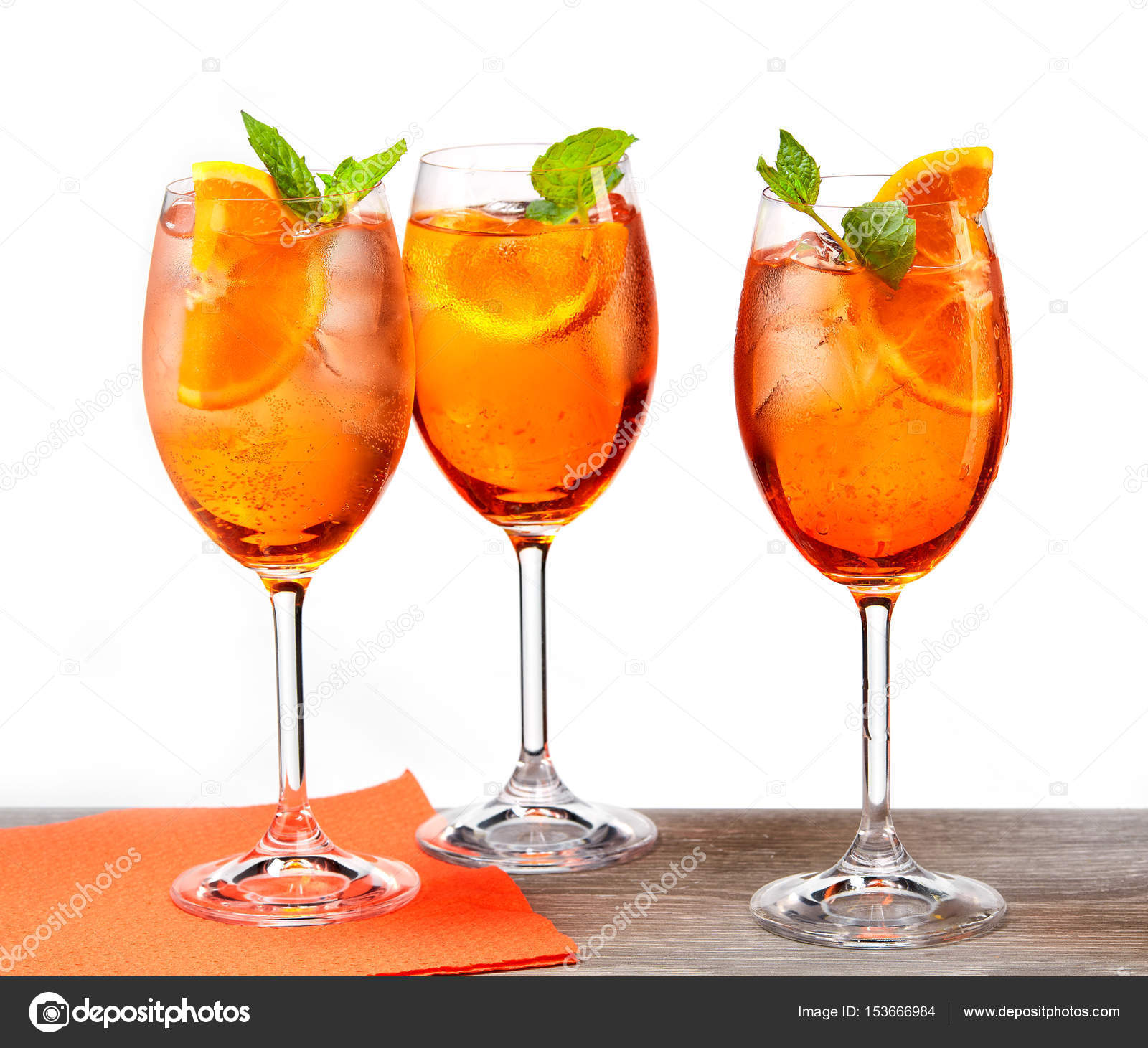 Cava Cocktail Aperol Spritz