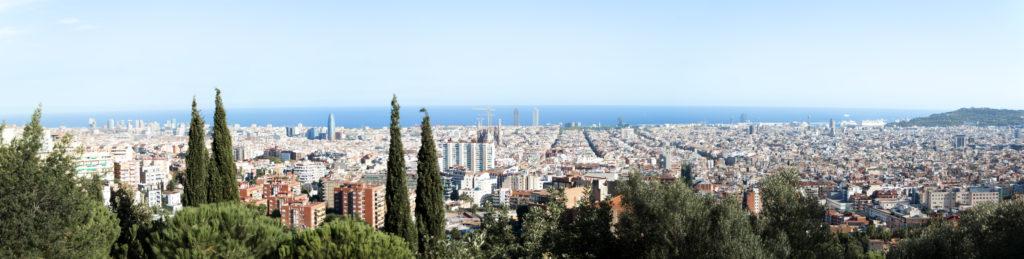 Cava-Ort Barcelona Spanien