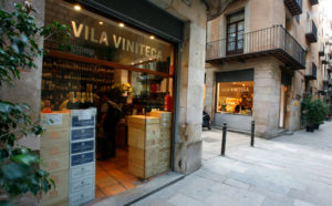 Vila Viniteca inBarcelona , Cava plats